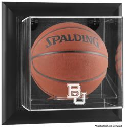 Baylor Bears Black Framed Logo Wall-Mountable Basketball Display Case - Mounted Memories