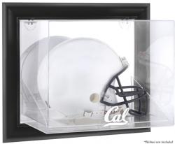 California Bears Black Framed Wall-Mountable Helmet Display Case