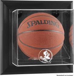 Florida State Seminoles (FSU) Black Framed (2014 - Present Logo) Wall-Mountable Basketball Display Case