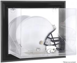 Kansas State Wildcats Black Framed Wall-Mountable Helmet Display Case