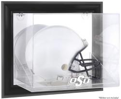 Oklahoma State Cowboys Black Framed Wall-Mountable Helmet Display Case