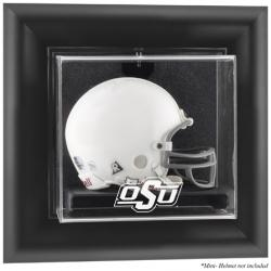 Oklahoma State Cowboys Black Framed Wall-Mountable Mini Helmet Display Case