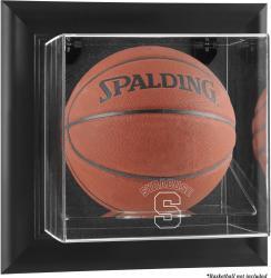 Syracuse Orange Black Framed Wall-Mountable Basketball Display Case