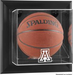 Arizona Wildcats Black Framed Wall-Mountable Basketball Display Case - Mounted Memories