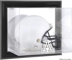 Arizona Wildcats Black Framed Wall-Mountable Helmet Display Case