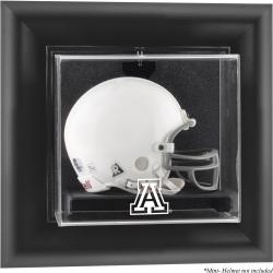 Arizona Wildcats Black Framed Wall-Mountable Mini Helmet Display Case