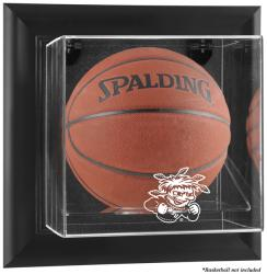 Wichita State Shockers Black Framed Wall-Mountable Basketball Display Case