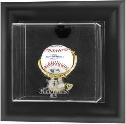 Boston Red Sox 2013 MLB World Series Champions Black Wall-Mounted Baseball Case - Mounted Memories