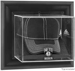NBA Brooklyn Nets Black Framed Wall-Mounted Cap Display Case