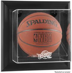 Cleveland Cavaliers Black Framed Wall-Mounted Team Logo Basketball Display Case - Mounted Memories