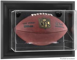 Black Framed Wall-Mountable Football Display Case