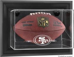 San Francisco 49ers Football Logo Display Case - Mounted Memories
