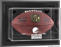 Cleveland Browns Football Logo Display Case - Mounted Memories
