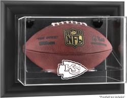 Kansas City Chiefs Football Logo Display Case - Mounted Memories