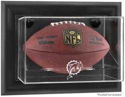 Miami Dolphins Football Logo Display Case - Mounted Memories