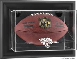Jacksonville Jaguars Black Framed Wall-Mountable Football Case - Mounted Memories