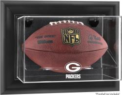 Green Bay Packers Football Logo Display Case - Mounted Memories