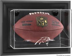Carolina Panthers Football Logo Display Case - Mounted Memories