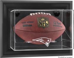 New England Patriots Football Logo Display Case - Mounted Memories