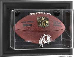 Washington Redskins Black Framed Wall-Mounted Logo Football Case - Mounted Memories