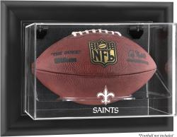 New Orleans Saints Football Logo Display Case - Mounted Memories