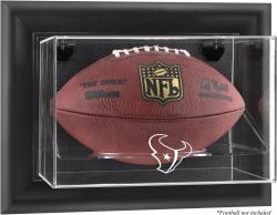 Houston Texans Football Logo Display Case - Mounted Memories