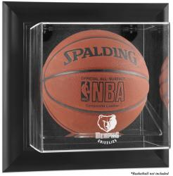 Memphis Grizzlies Black Framed Wall Mount Team Logo Basketball Display Case - Mounted Memories