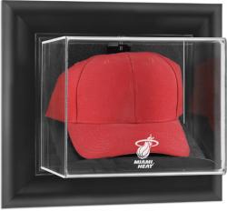Miami Heat Black Framed Wall Mount Cap Display Case