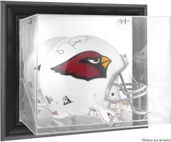 Arizona Cardinals Black Framed Wall-Mounted Helmet Display - Mounted Memories