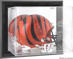Cincinnati Bengals Framed Wall-Mounted Helmet Display - Black - Mounted Memories