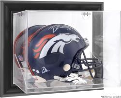 Denver Broncos Black Framed Wall-Mounted Helmet Display - Mounted Memories