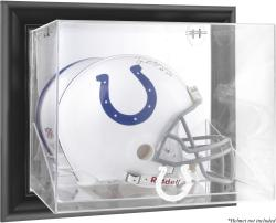 Indianapolis Colts Black Framed Wall-Mounted Helmet Display - Mounted Memories