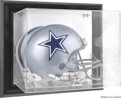 Dallas Cowboys Black Framed Wall-Mounted Helmet Display - Mounted Memories