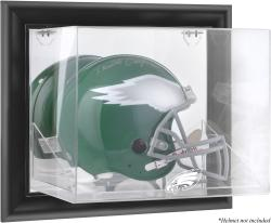 Philadelphia Eagles Black Framed Wall-Mounted Helmet Display - Mounted Memories
