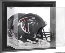 Atlanta Falcons Framed Wall-Mounted Helmet Display - Black - Mounted Memories