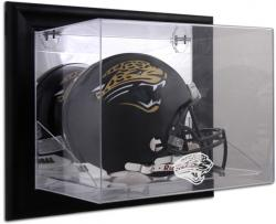 Jacksonville Jaguars Black Framed Wall-Mounted Helmet Display - Mounted Memories
