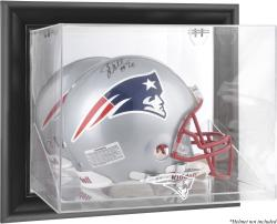 New England Patriots Black Framed Wall-Mounted Helmet Display - Mounted Memories