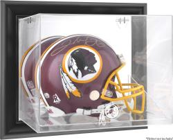 Washington Redskins Black Framed Wall-Mounted Helmet Display - Mounted Memories