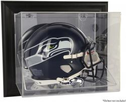 Seattle Seahawks Black Framed Wall-Mounted Helmet Display - Mounted Memories