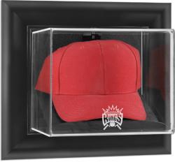 Sacramento Kings Black Framed Wall-Mounted Cap Display Case