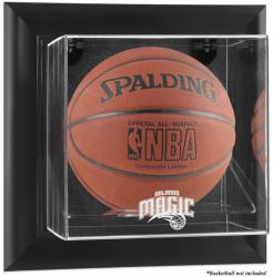 Orlando Magic Black Framed Wall-Mounted Team Logo Basketball Display Case - Mounted Memories