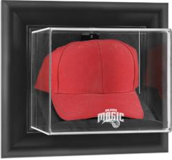 Orlando Magic Black Framed Wall-Mounted Cap Display Case