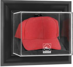 Philadelphia 76ers Black Framed Wall-Mounted Cap Display Case