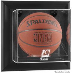 Phoenix Suns Black Framed Wall Mount Team Logo Basketball Display Case