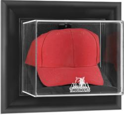 Minnesota Timberwolves Black Framed Wall-Mounted Cap Display Case