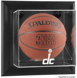 Washington Wizards Black Framed Wall-Mounted Team Logo Basketball Display Case - Mounted Memories