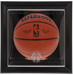 Washington Wizards Black Framed Wall-Mounted Team Logo Basketball Display Case