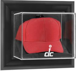 Washington Wizards Black Framed Wall-Mounted Cap Display Case