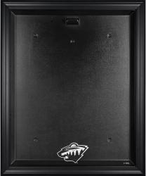 Minnesota Wild Black Framed Logo Jersey Display Case