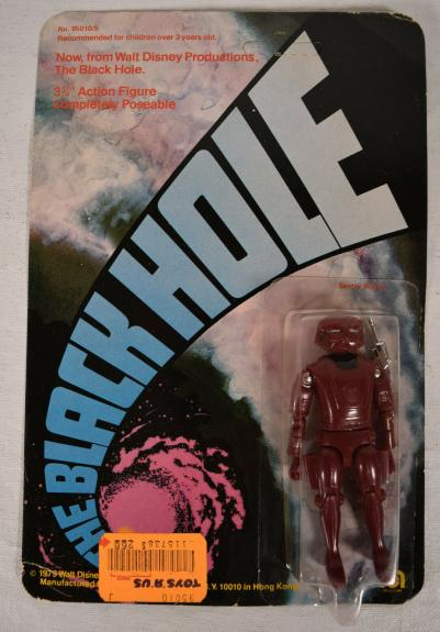Black Hole Maximmillian Sentry Robot Action Figure Mego 1979 MOC New Disney